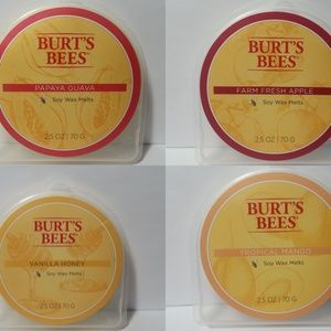 (1) Burt's Bees Soy Wax Melts Your Choice of Scent